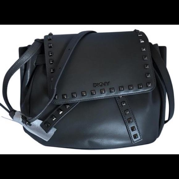 2a559c2b0f45 NWT DKNY LEATHER BAG